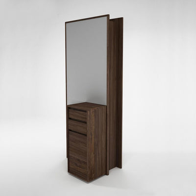 Karpenter Circa17 Mirror with Cupboard Walnut