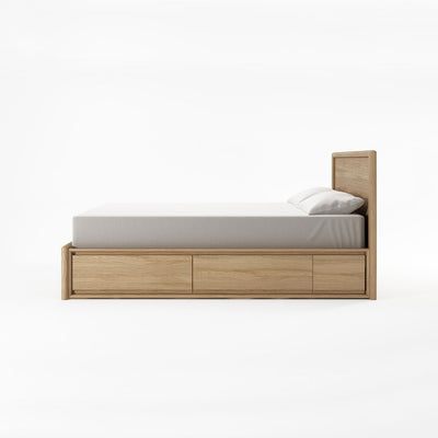 Karpenter Circa17 Queen Size Bed Oak