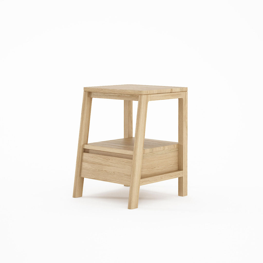 Karpenter Circa17 Side Table with Drawer Oak