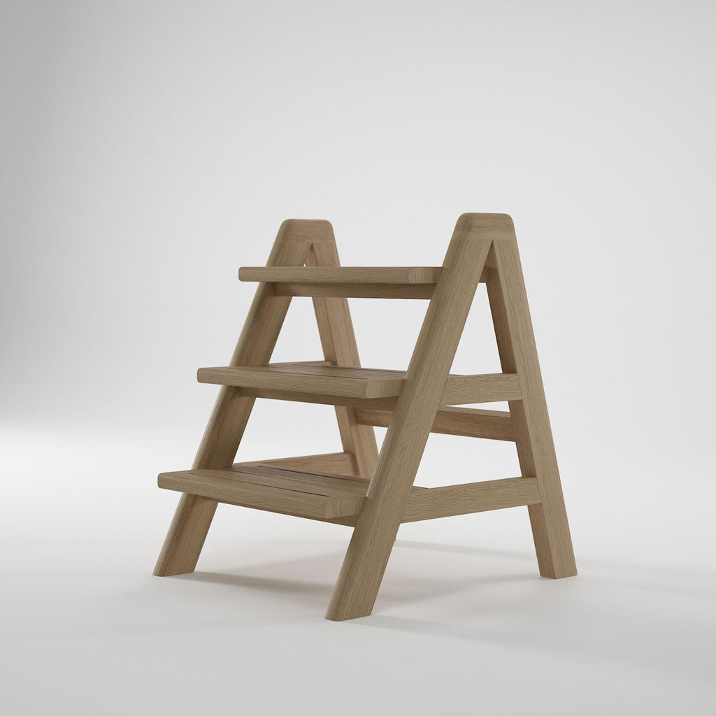 Karpenter Circa17 Step Ladder Oak