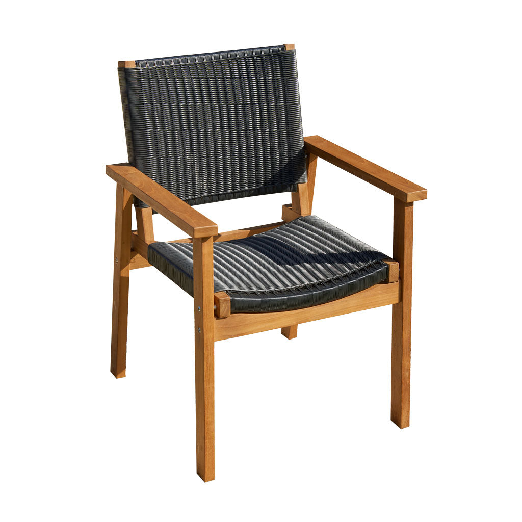 Corfu Chair Black | Parker Boyd Outdoor Furniture