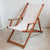 Deckchair with Arms (Ironwood) - Sunbrella Plain Sling