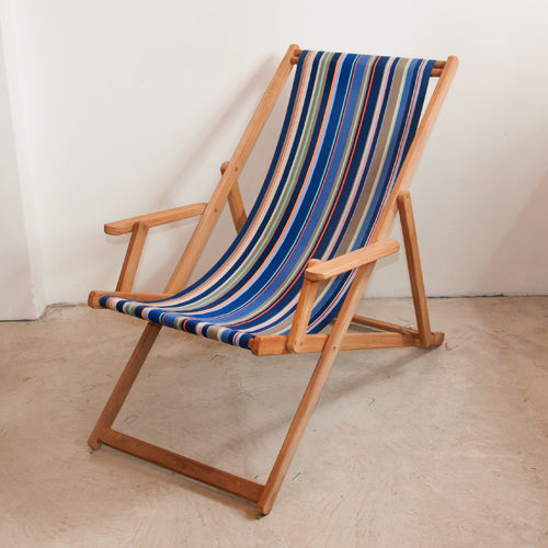 Deckchair with Arms (Teak) - Saint Vincent Roy