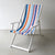 Deckchair with Arms (White) - Acrylic Sling