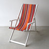 Deckchair with Arms (White) - Saint Vincent Rouge