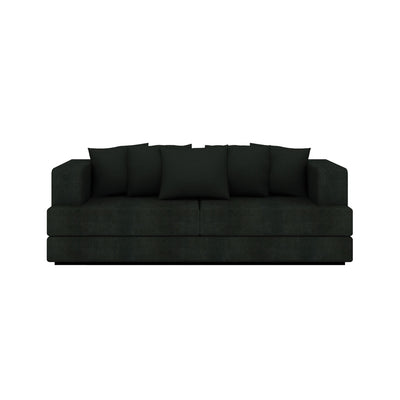 Ethnicraft ET301 3 Seater Sofa Charcoal