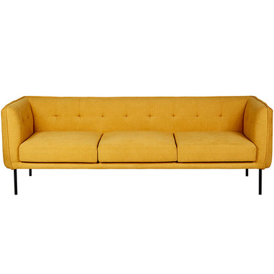 Eadie Sofa | Mustard | Space to Create
