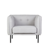 Eadie Armchair in Cool Grey
