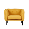 Eadie Armchair in Mustard