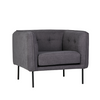 Eadie Armchair in Slate Grey