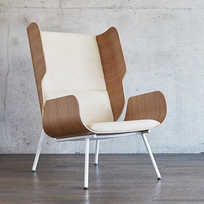 Elk Chair in Huron Ivory/Natural Ash