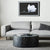 Elle Round Block Coffee Table in Matt Black