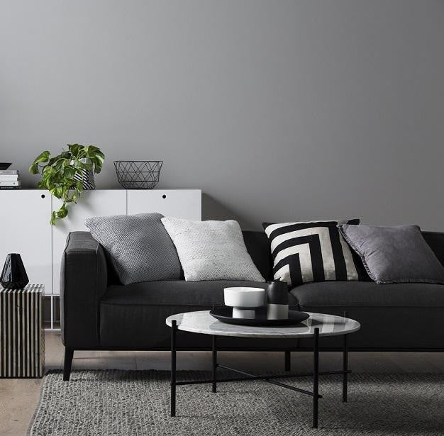 Felix Square 3 Seater Sofa in Graphite