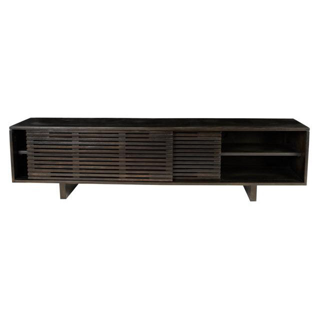 Globewest Finn Entertainment Unit in Charcoal Mahogany