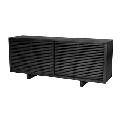 Globewest Finn Sideboard in Charcoal Mahogany