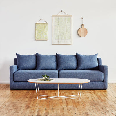 Gus Flipside Sofabed in Chelsea Pacific | Gus Modern Furniture