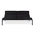 Fogo Loft Sofa in Black