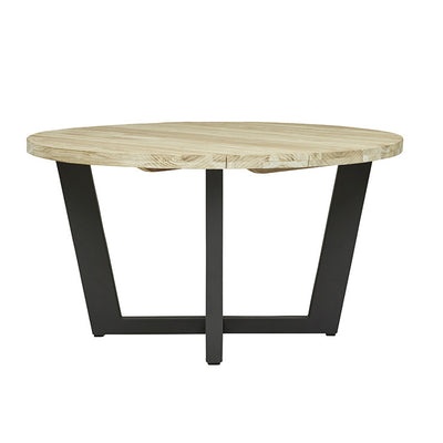 Granada Beach Round Dining Table in Graphite