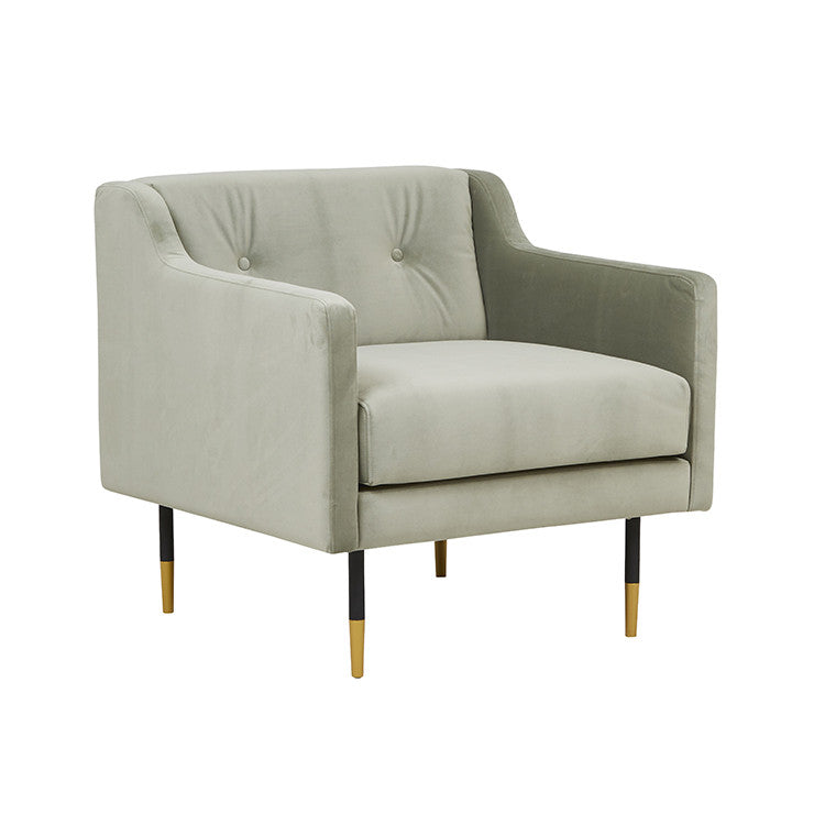 Greco Sofa Chair in Moss Green