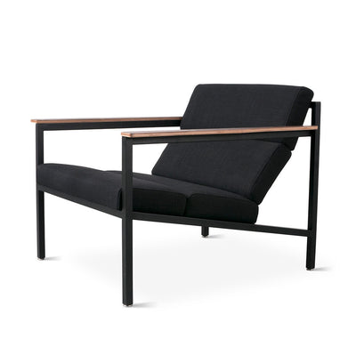 Gus Modern Halifax Chair - Laurentian Onyx/Black