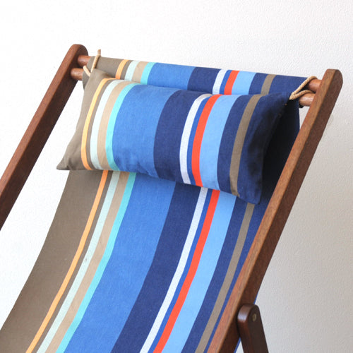 Deckchair Head Cushion - Collioure Roy