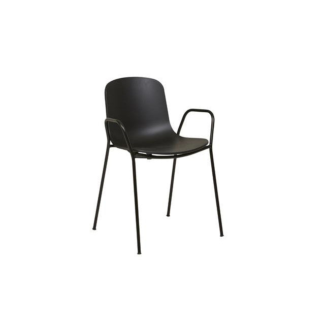 Holi Dining Armchair Black