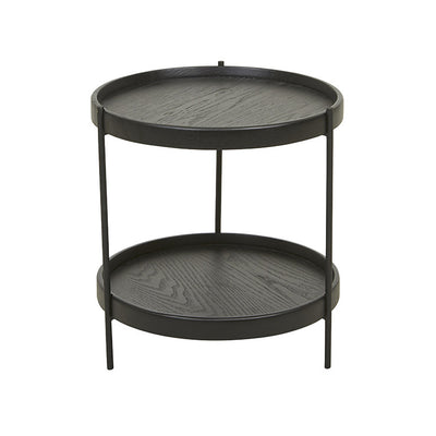 Humla Side Table in Black