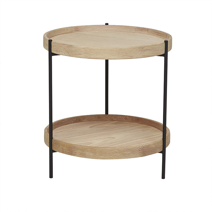 Humla Side Table in Light Oak