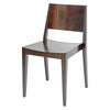 Hunter Low Back Chair in Wenge