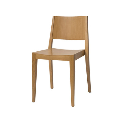 Hunter Low Back Chair in Raw