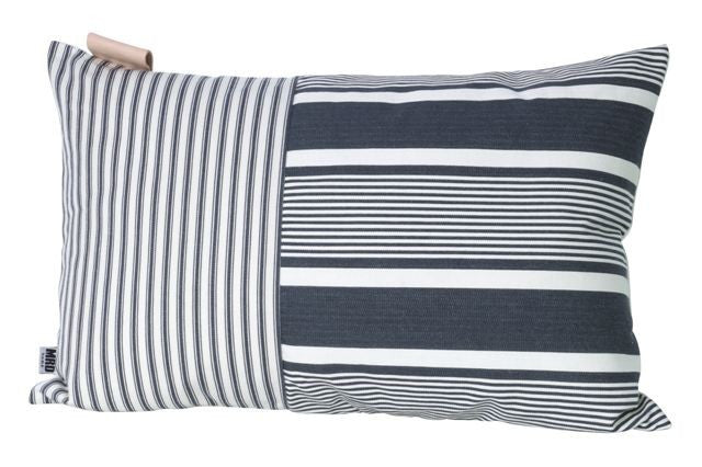 Ines Rectangle Cushion Black