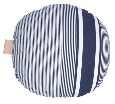 Ines Round Cushion Indigo