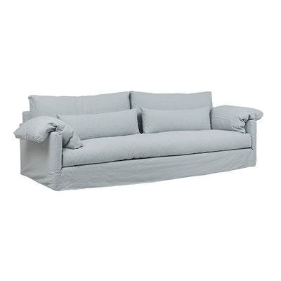 Island 3 Seater Sofa in Glacier