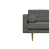 Juno Daria 3 Seater Sofa in Elephant Grey