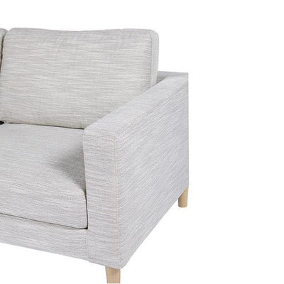 Juno Scandi 3 Seater Sofa in Cool Grey