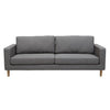 Juno Scandi 3 Seater Sofa in Elephant Grey