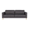Juno Scandi 3 Seater Sofa in Slate Grey