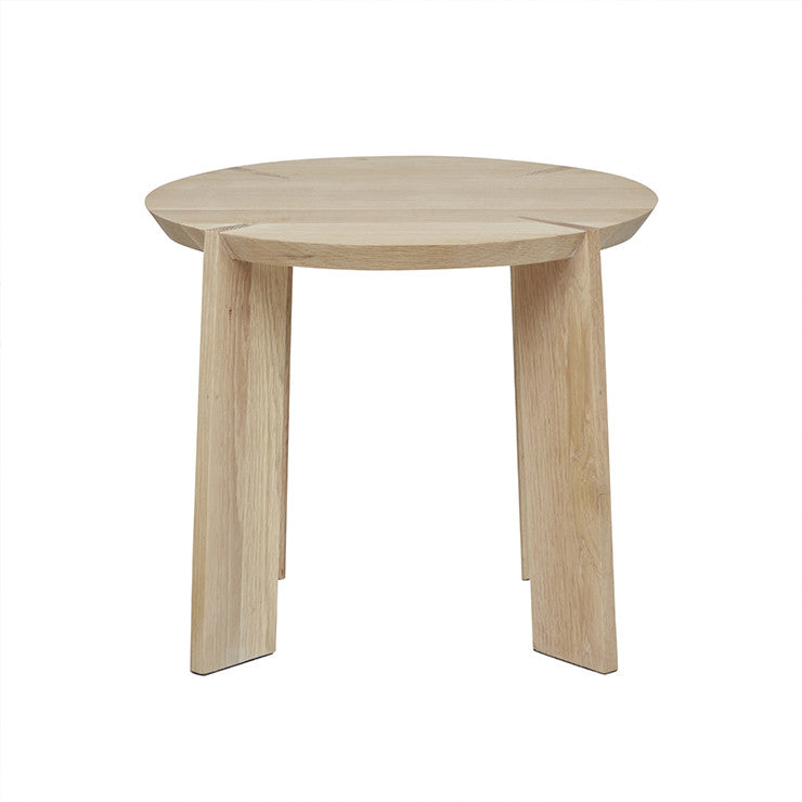 Kile Side Table in Light Oak