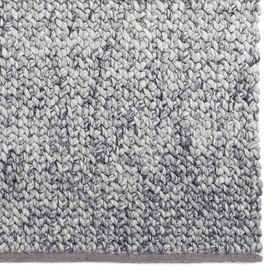 Knoll Rug in Silver by Tribe Home