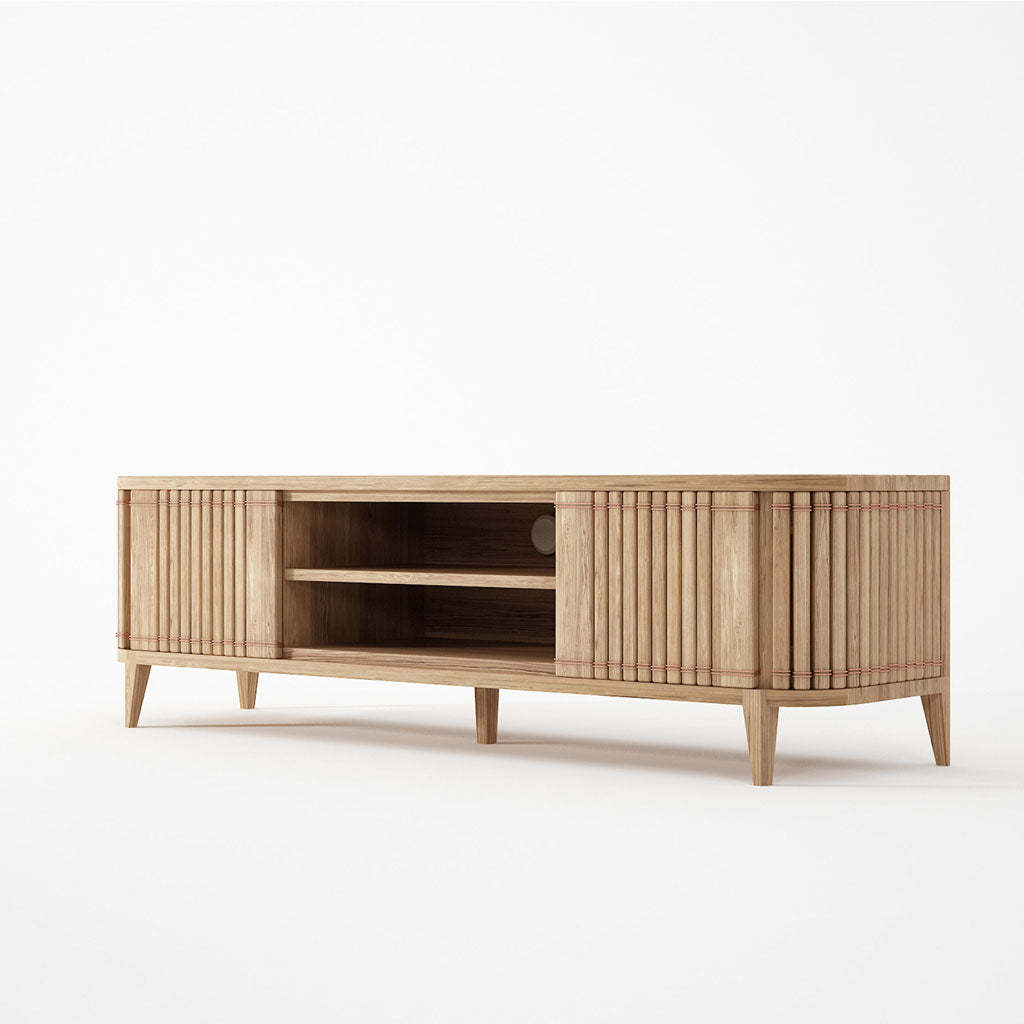 Karpenter Koppar Entertainment Unit 2 Doors