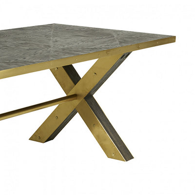Lancaster Cross Dining Table