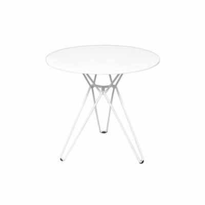 Linear Cafe Table White