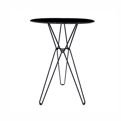 Linear Bar Table Black
