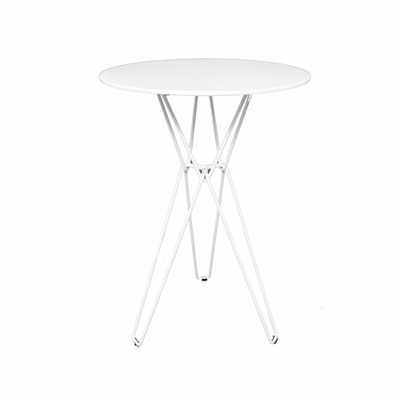 Linear Bar Table White
