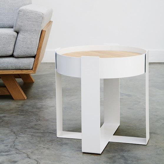 Loupe Side Table