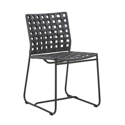 Marina Square Dining Chair in Lava