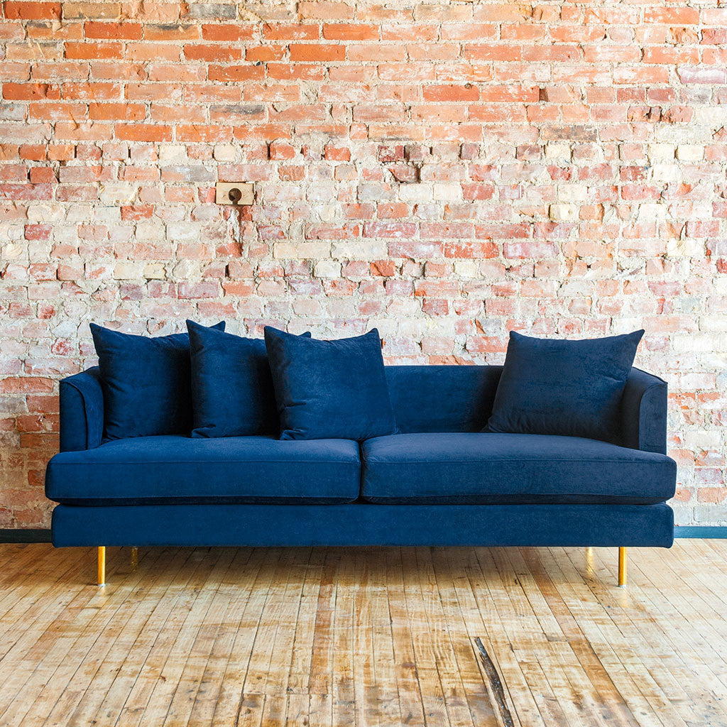 Gus Modern Margot Sofa - Velvet Midnight