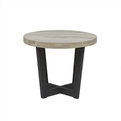 Globewest Marina Cross Side Table in Graphite