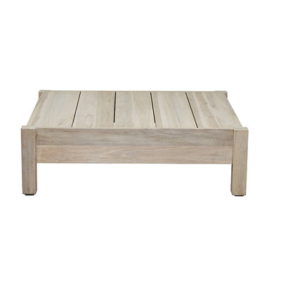 Marina Cube Square Coffee Table in Aged Teak