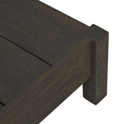 Marina Cube Square Coffee Table in Ebony